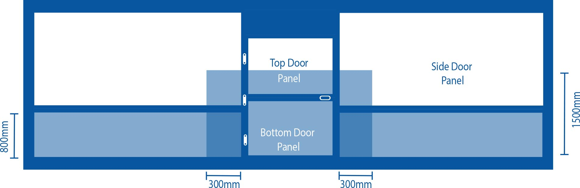 Toughened Glass Installation Diagram